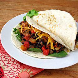 chipotle black bean tacos | Food | Pinterest