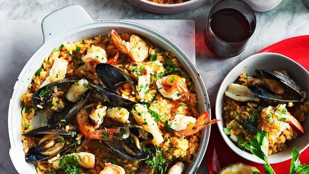 Seafood risotto | Recipe