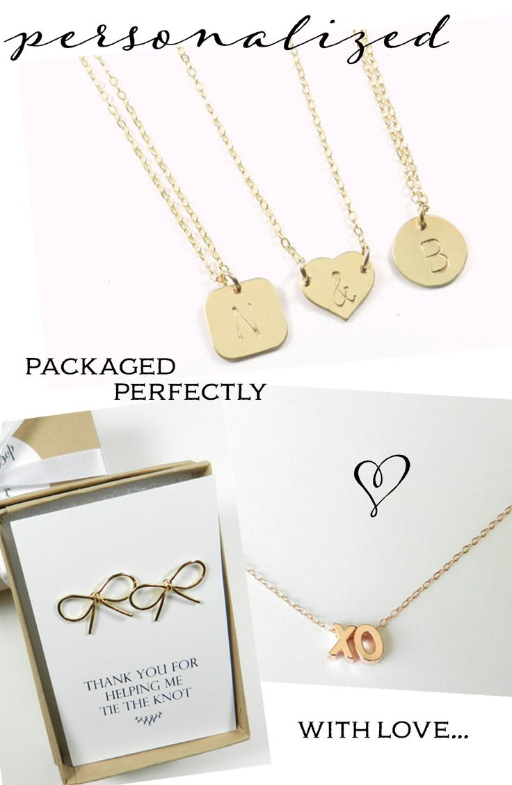 Unique Wedding Gifts Under USD100 : Bridesmaid Gifts & Bridal Jewelry from Bip & Bop: Win a USD100 Gift ...