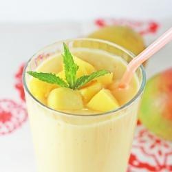 Mango & Honey Smoothie | Baking Recipes | Pinterest