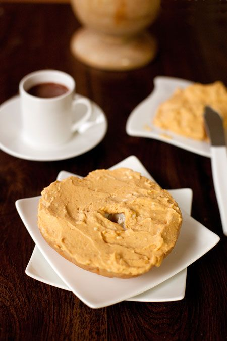 Pumpkin spread...good alternative to spread on apples or bagels