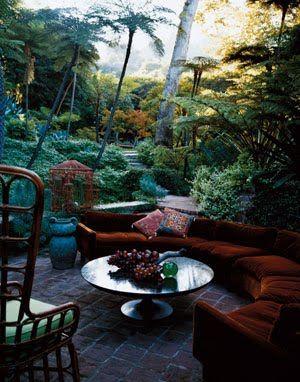 Opulent Bohemian Gardens