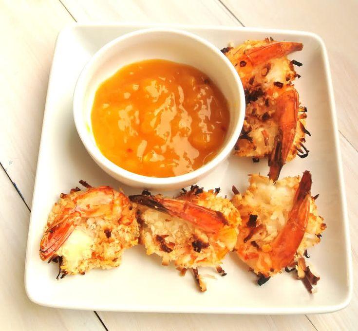 Baked Coconut Shrimp | K E T O | Pinterest