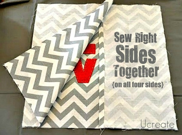 Easy Throw Pillow Cover Pattern : Pinterest: Discover and save creative ideas