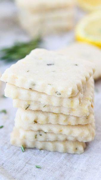 Lemon Rosemary Shortbread | Recipe