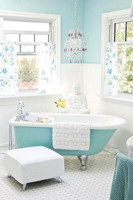 Bañeras exentas con color