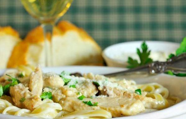 Turkey Fettuccine Primavera | Pasta Dishes | Pinterest