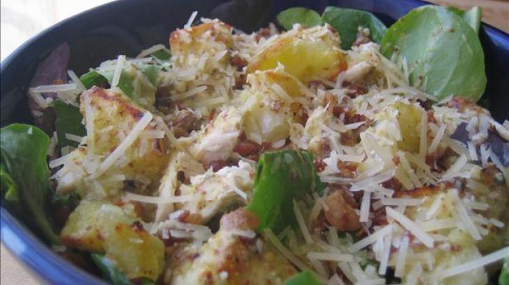 Warm Chicken, Bacon & Potato Salad | Food | Pinterest