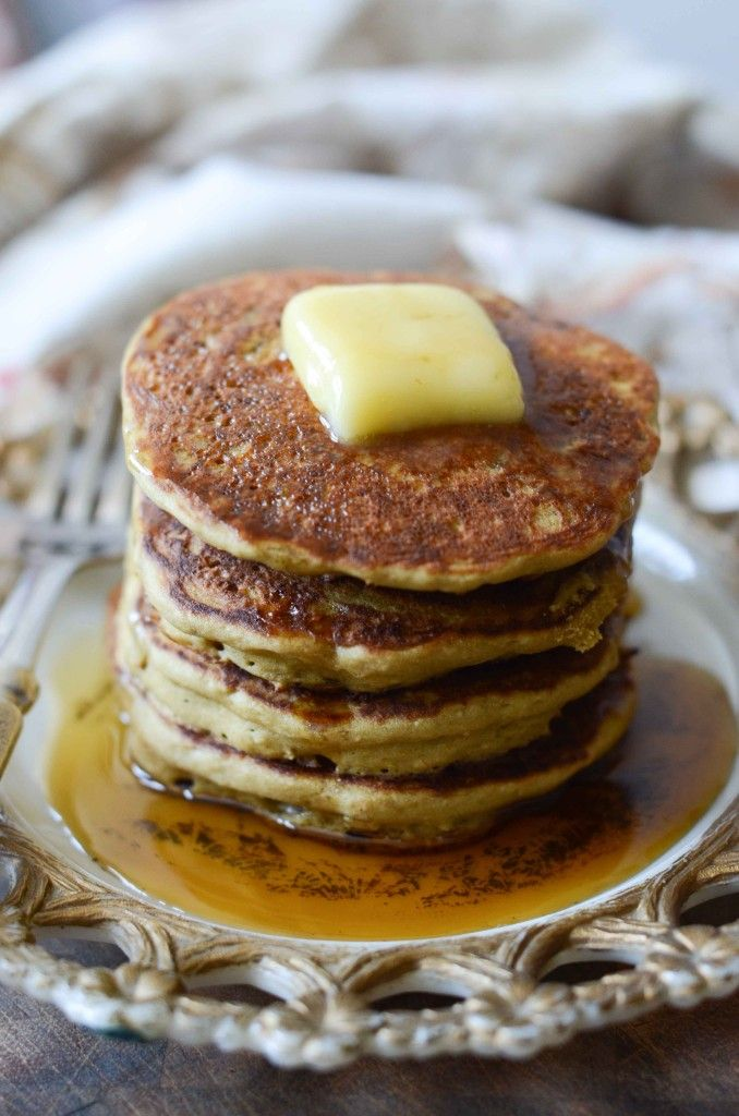 Teff & Oat Flour Yogurt Pancakes | Fresh Tart (gluten-free) http://www ...