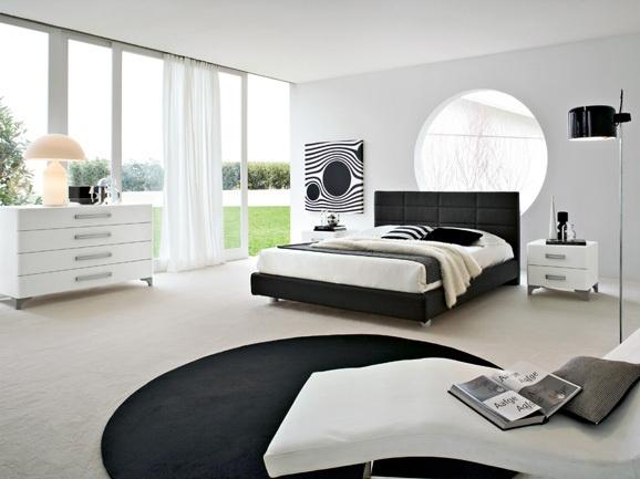 Camera da letto moderna. Modern bedroom.  ArredissimA Camere  Pinte…