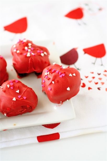 Valentine's Cake Truffles and tons of other delicious Valentine's Day recipes!