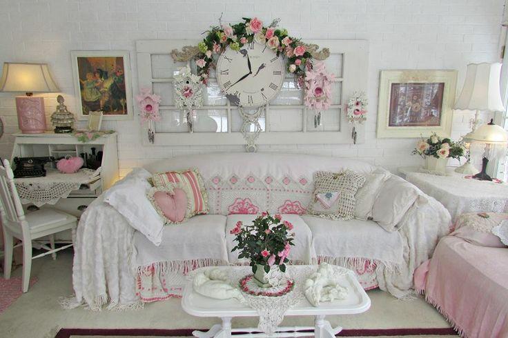 Living Room Shabby Chic Pinterest
