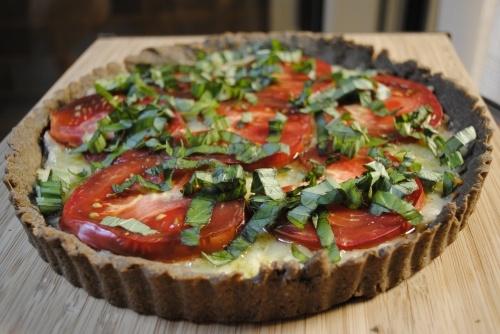 Tomato Tuesday: Gluten-free Tomato Tart from Fifth Floor Kitchen
