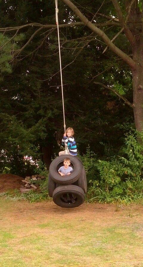 tire swing tires pinterest