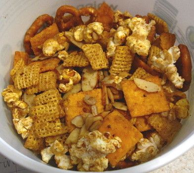 snack mix recipes | Christmas snack recipes: Sweet and spicy snack mix ...