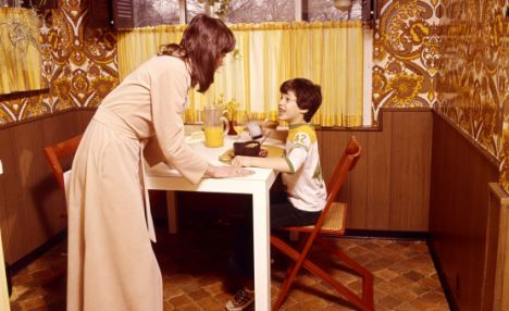Family life 70s 70s 70s pinterest for Living naked at home