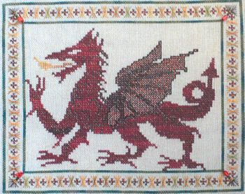 Welsh Dragon Free Crochet Pattern : Welsh Dragon - Cross Stitch Pattern hobby time Pinterest