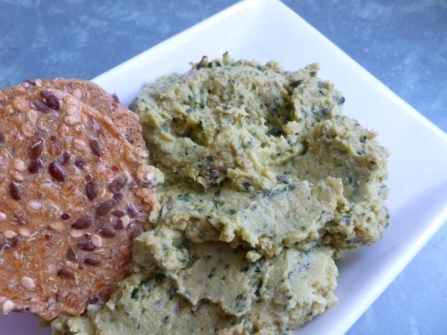 garlic, lemon & kale hummus | phoebe's pure food delivered | Pinterest