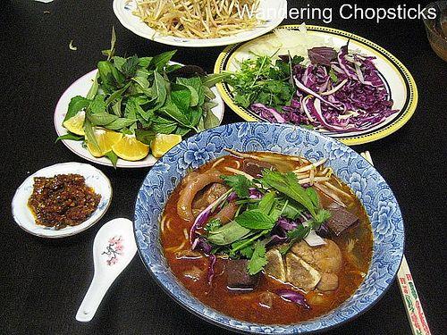 Bo Hue (Vietnamese Hue-Style Beef Noodle Soup) | Menu - Noodle Soups ...