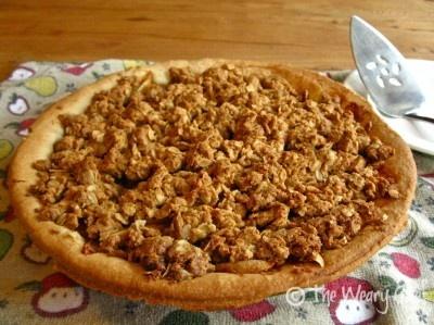 Peanut Butter Apple Pie (use vegan butter)
