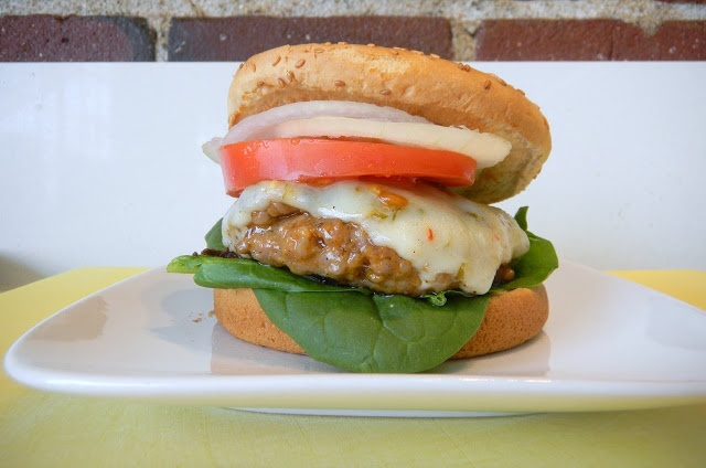 italian sausage burger | Main Dishes/Sandwiches/Sides | Pinterest