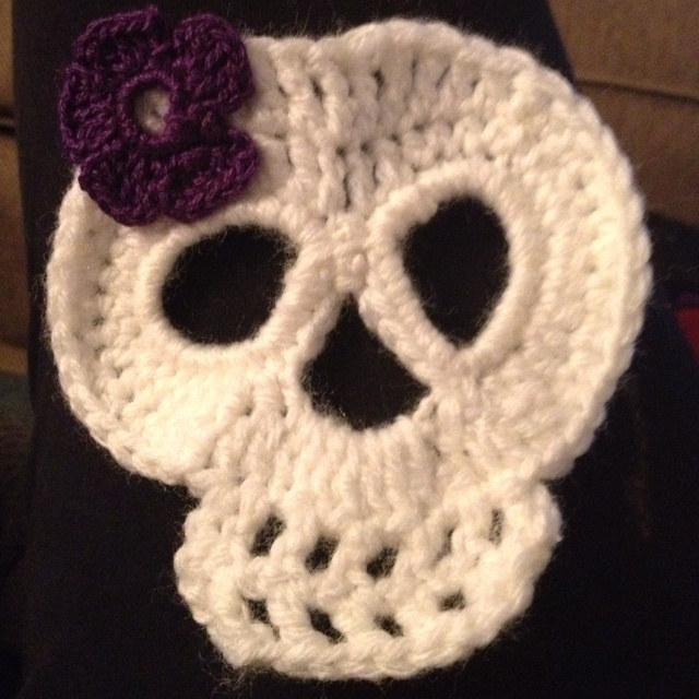 Crochet Skull : Crochet skull Crochet everything Pinterest