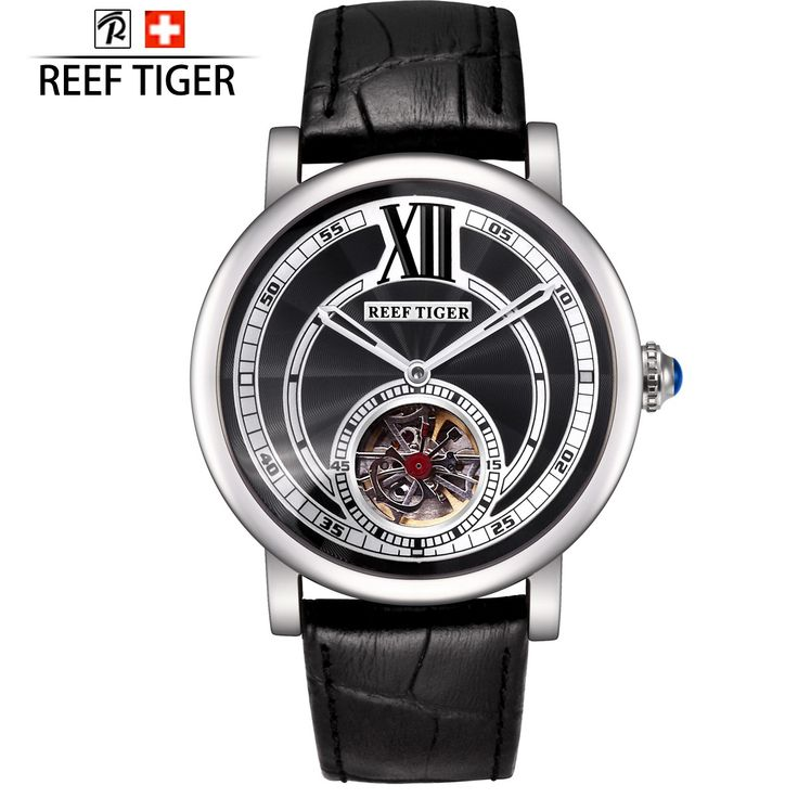 Artist Royal Crown Automatic Steel Case with Black Sunstreaker Dial ...