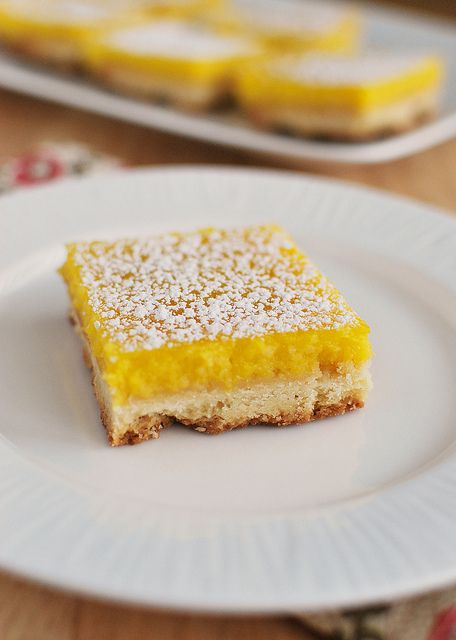 Meyer Lemon Bars | Culinary Endeavors | Pinterest