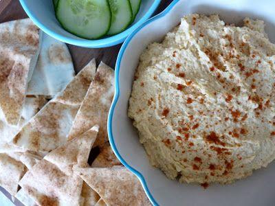 Basic Hummus | Hummus | Pinterest