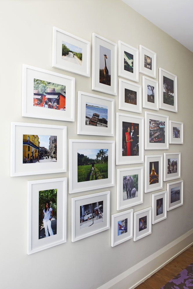 How To Arrange Photos On The Wall