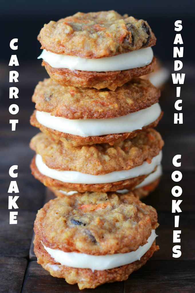 carrot cake cookies | cookie and candy jar | Pinterest