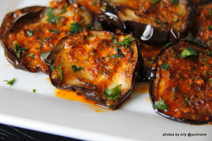 Roasted Eggplant with Moroccan Chermoula | Recipes to Try | Pinterest