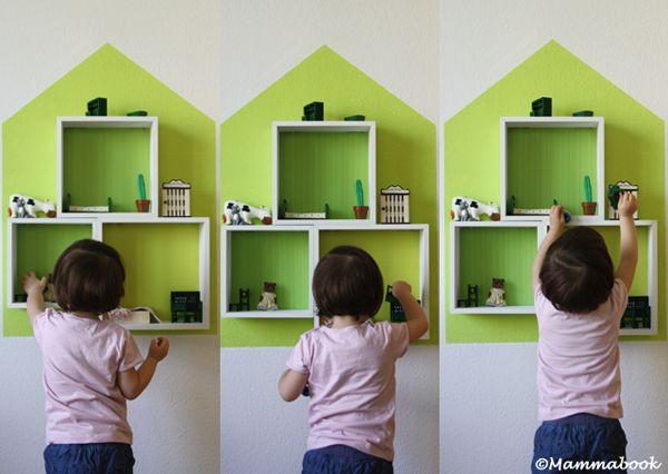 http://mammabook.blogspot.de/2014/05/da-mensole-casa-delle-bambole-guestpost-faccio-e-disfo-DIY-from-shelf-to-dollhouse-design.html