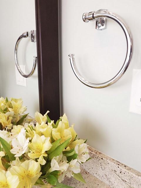 towel ring | Master Bathroom | Pinterest