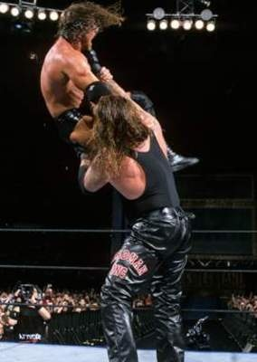 Undertaker vs. Triple H WrestleMania 17 | World Wrestling ...