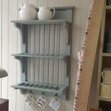 Wooden Plate Rack Wall Mounted Realistic House Ideas