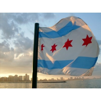 city flag of chicago