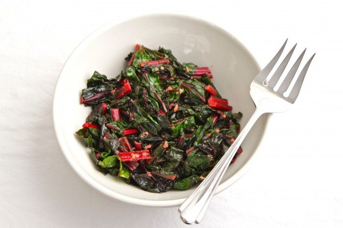 Sauteed Swiss Chard with Ginger | TheCornerKitchenBlog.com # ...