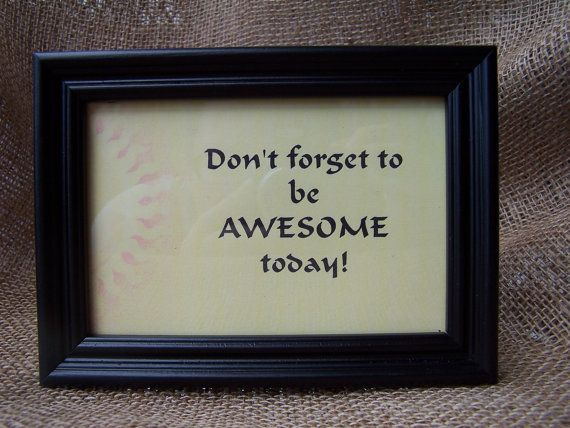 framed inspirational quote by InspirationalKnights on Etsy, $19.50