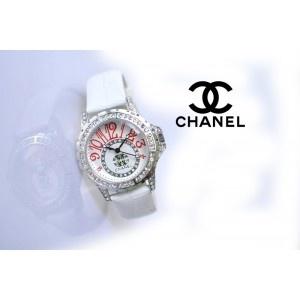CHANEL 11196 WHITE SILVER + BONUS BOX EXCLUSIVE MESIN JEPANG TALI ...