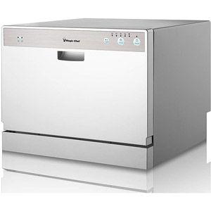 Countertop Dishwasher Magic Chef : Magic Chef 6-Place Setting Countertop Dishwasher, Stainless Steel ...