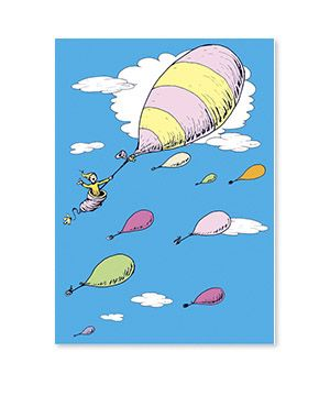 hot air balloon dr seuss