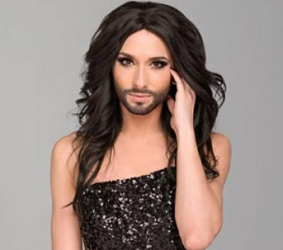 eurovision winner is the beard real