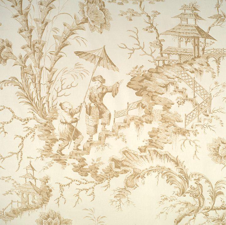 Discount toile wallpaper joy studio design gallery for Affordable designer wallpaper