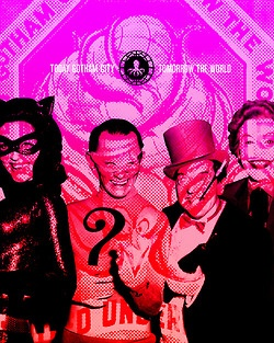 today gotham, tomorrow the world (batman '66 project)