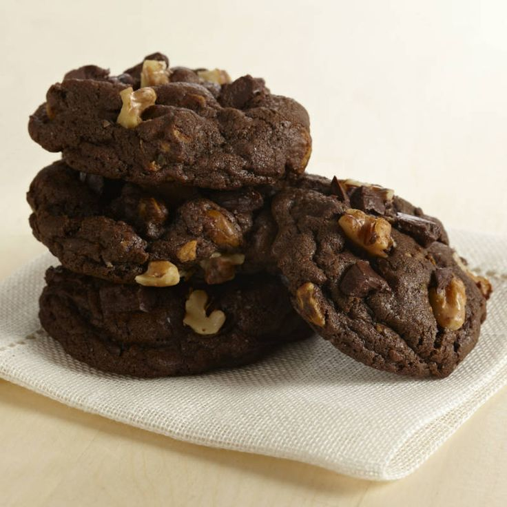 when it comes to desserts. These cookies have deep, rich chocolate ...