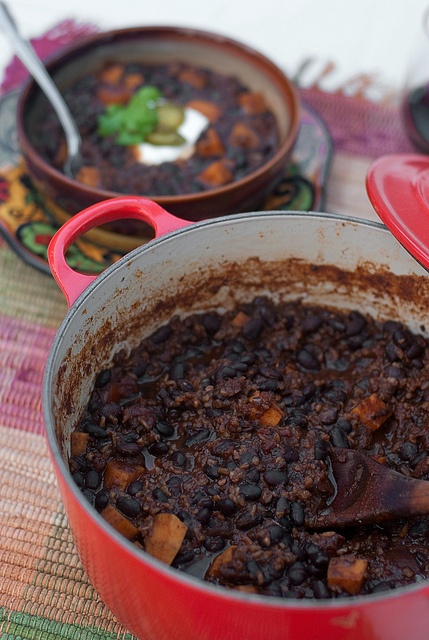 Black bean and sweet potato chili | Veggie food | Pinterest