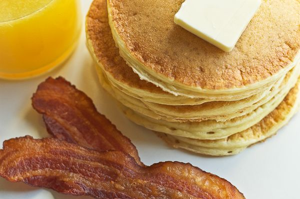 Cottage Cheese Pancakes, may have to try this just because I'm curious ...