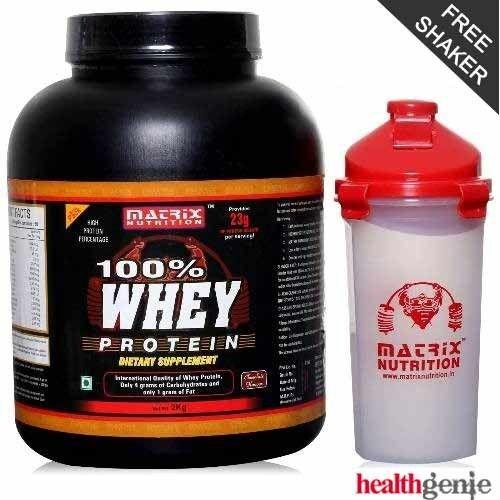 Whey protein powder price in india