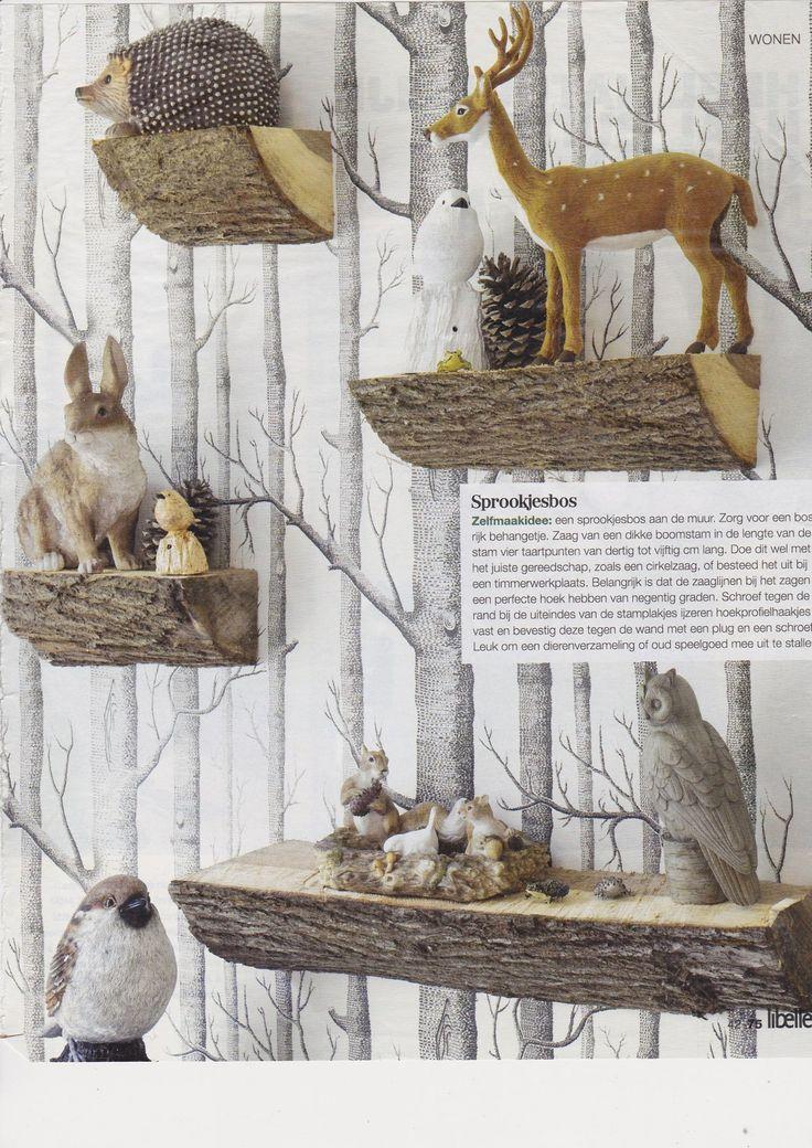 Wandplanken Keuken: Inspiratie voor wandplanken in huis interior ...